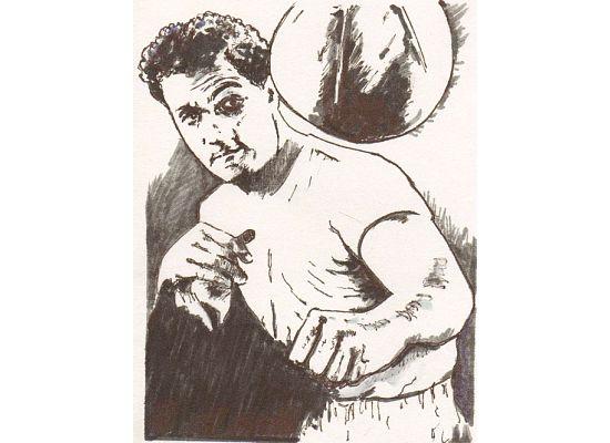 Rocky Marciano, by Andover artist Joe Gemellaro.