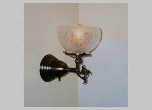"This sconce is called ""Oregon City"" and sells for $209."