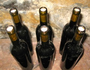 Wine is made in the RootsLiving wine cellar without any preservatives.