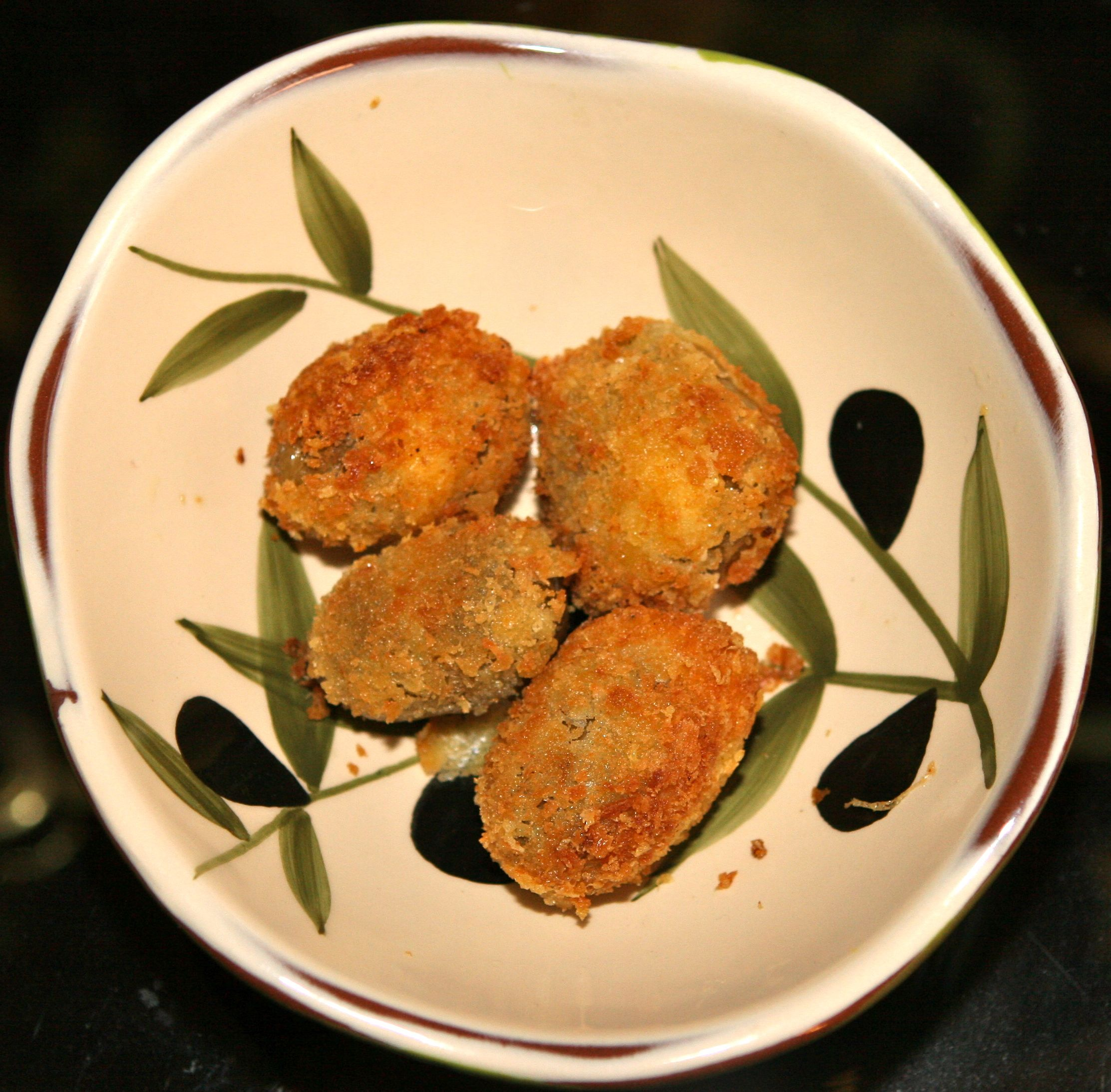 Kathy's Fried Olives