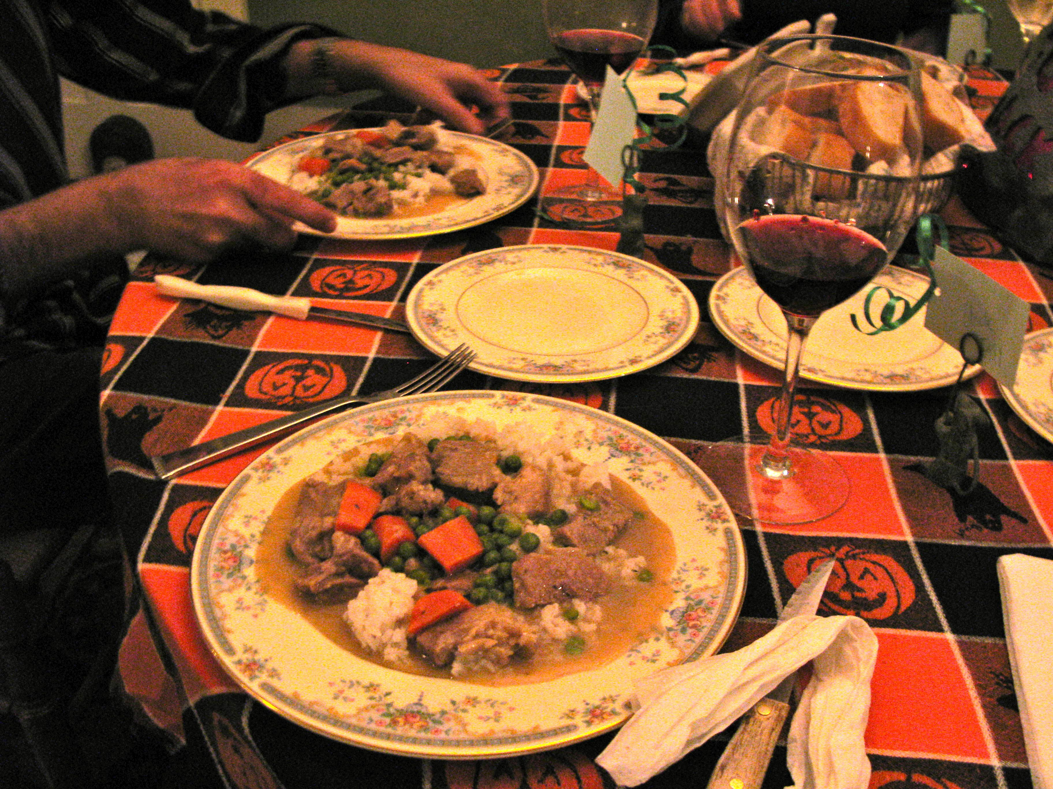 This blanquette de veau is easy to make and warms you up on a cold fall day.