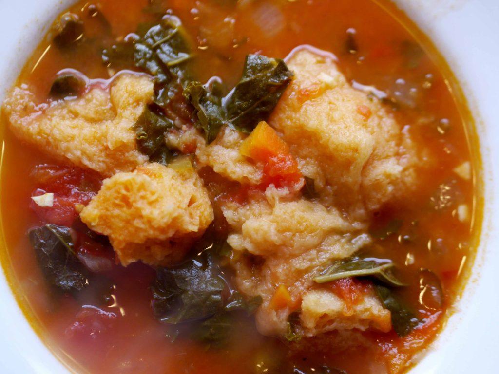A bowl of Ribollita soup.