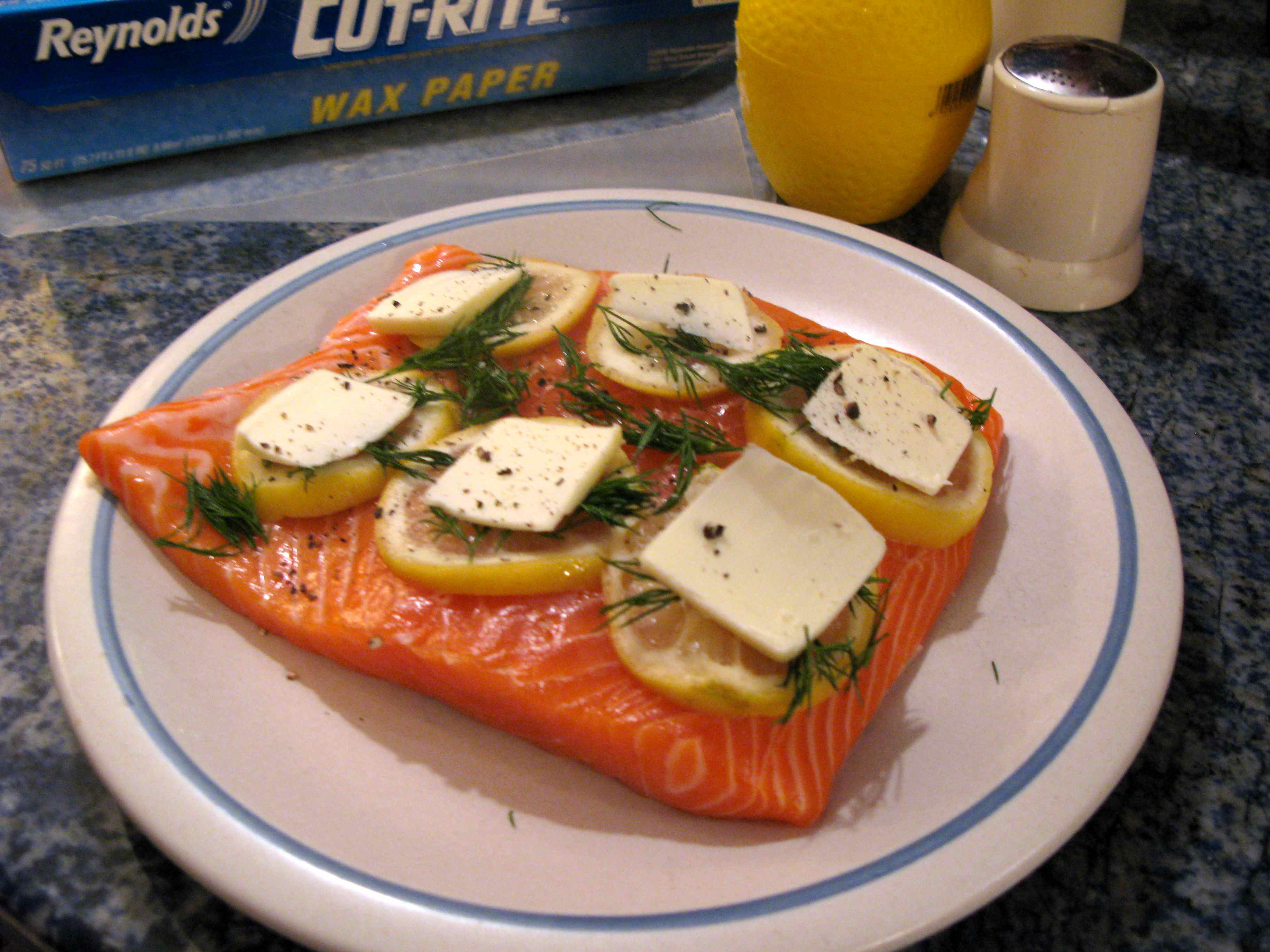 Shown Here Is About 1 Pound Of Salmon, Enough To Feed Two People  Rootsliving »