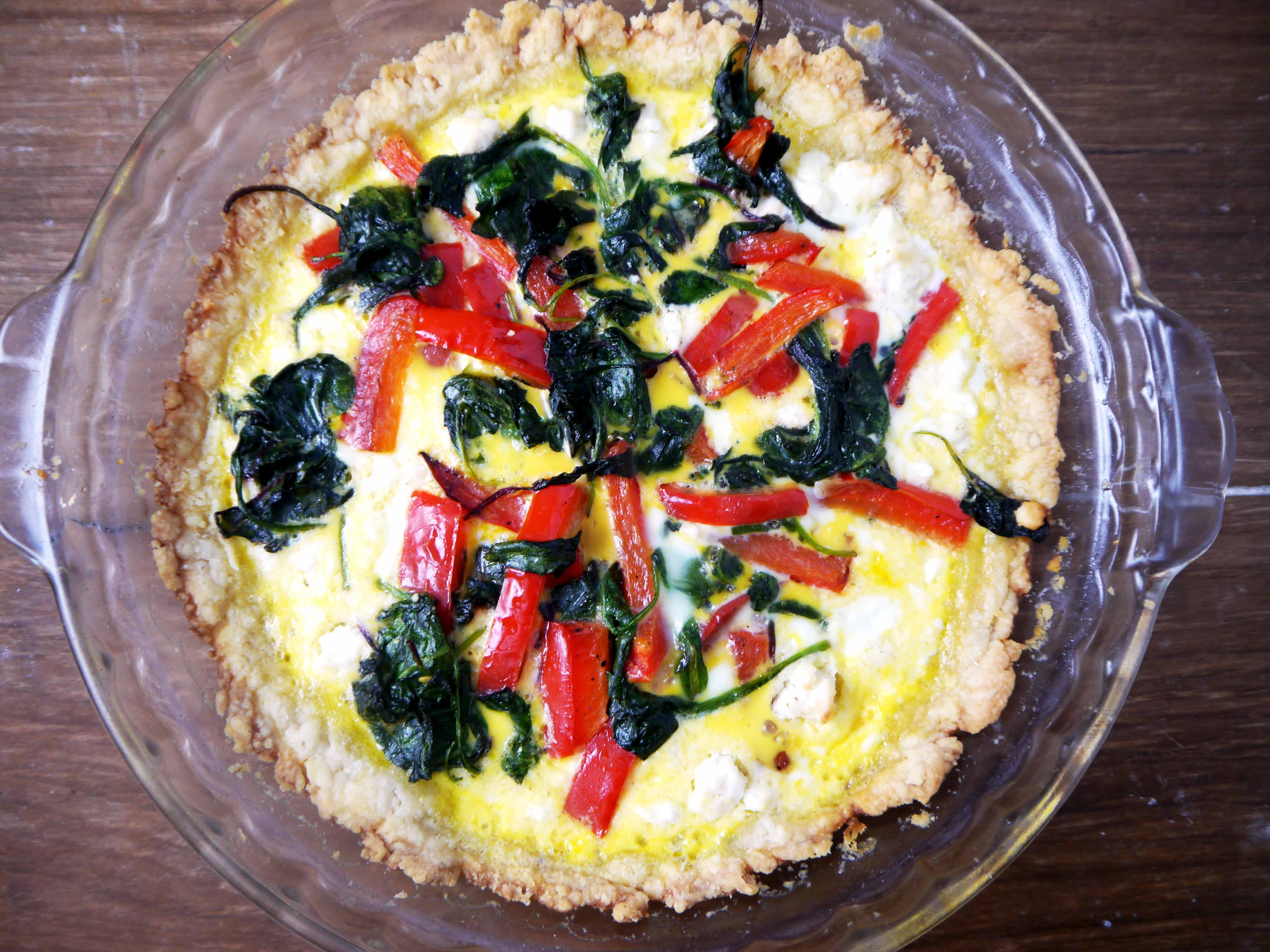 Pepper Quiche