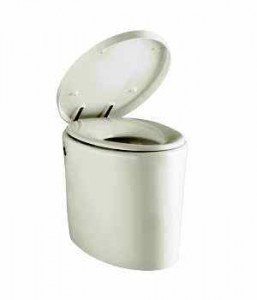"The ""Purist Hatbox"" toilet by Kohler retails for $4,059.95. I think they call it that because when customers hear how much it costs, they tell the salesman to ""go #$!!! in your hat!"""