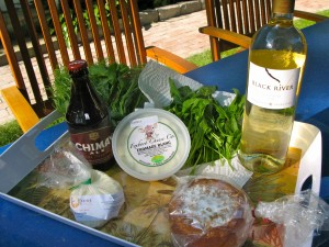 BEFORE: Items from the Foxboro Cheese Co., Fiore Di Nonno, and local farms.