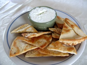 This Greek dip is healthier and less fattening than sour cream based dips, but tastes just as good, if not better.