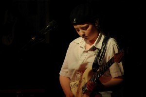 "Quinn Sullivan played at Buddy Guy's club, ""Legends"" in January, 2010. (Photo courtesy of PedalFreak on Flickr)."
