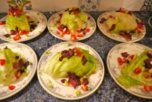 If you haven't had iceberg lettuce in awhile, try this.