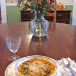 Ribollita is a hearty soup for a cold December day.