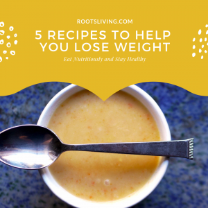 Cookbook cover: 5 Recipes To Help You Lose Weight