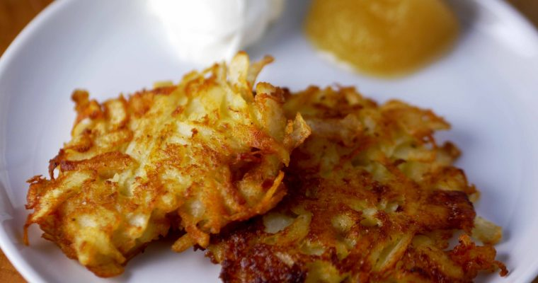 The Secret to Crispy, Crunchy Latkes