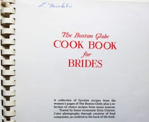 Cookbook title page