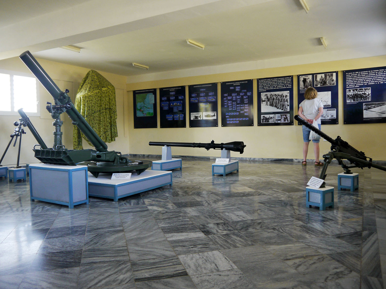 A display room in the museum.