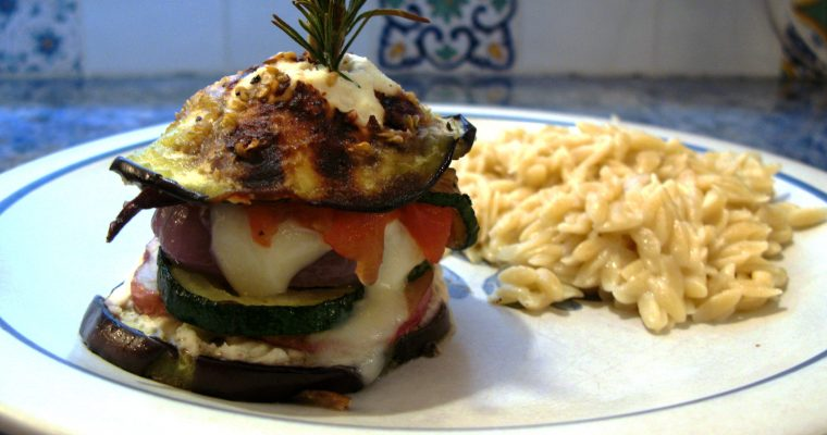 Roasted Vegetable Napoleons
