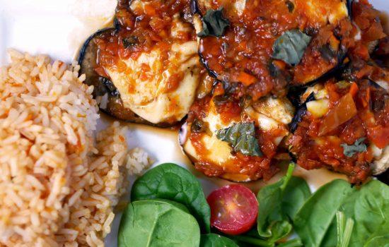 Eggplant Parmesan Light (Low Calorie)
