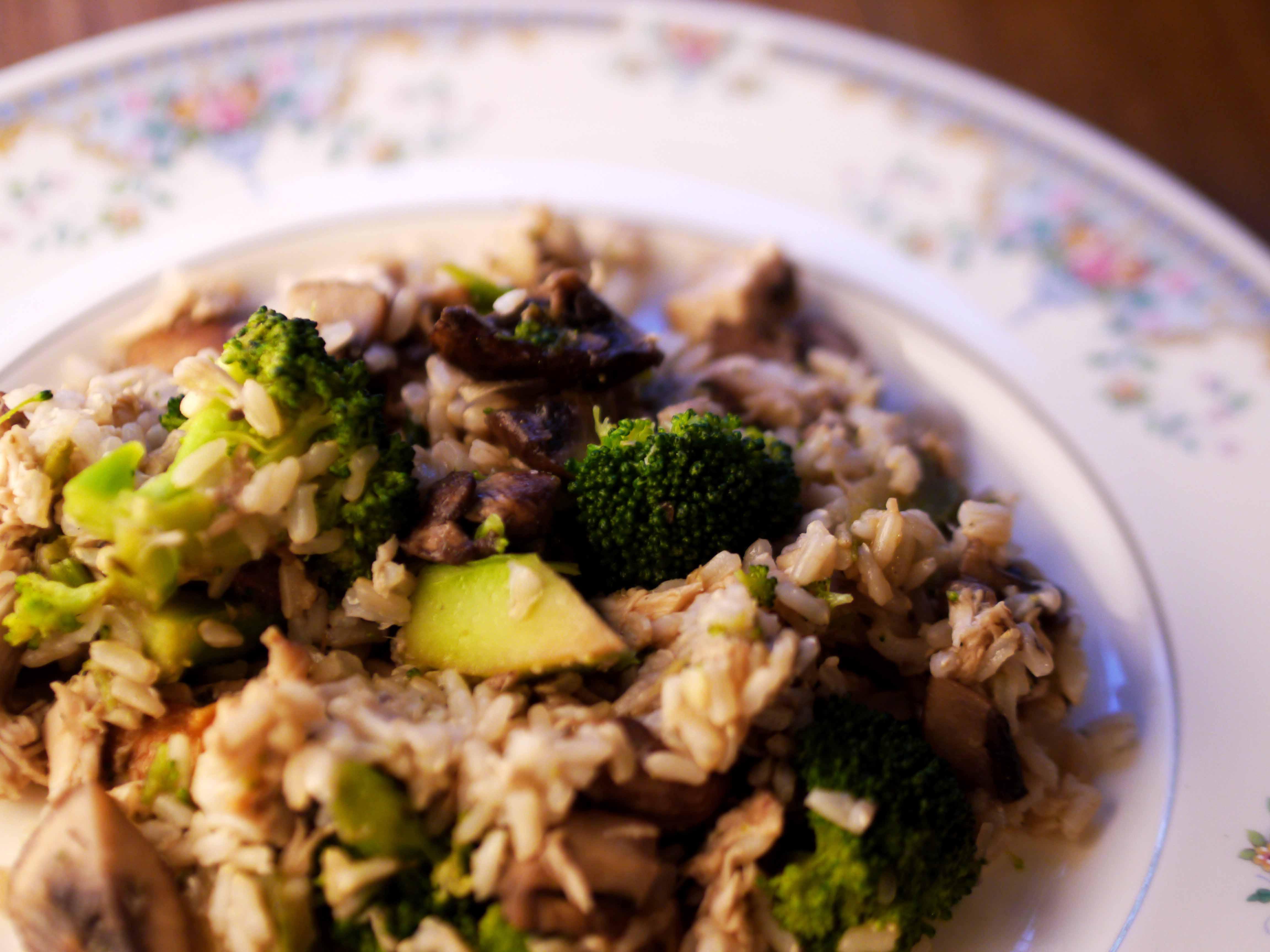 Joe's Weight-Loss Chinese Chicken & Veggies
