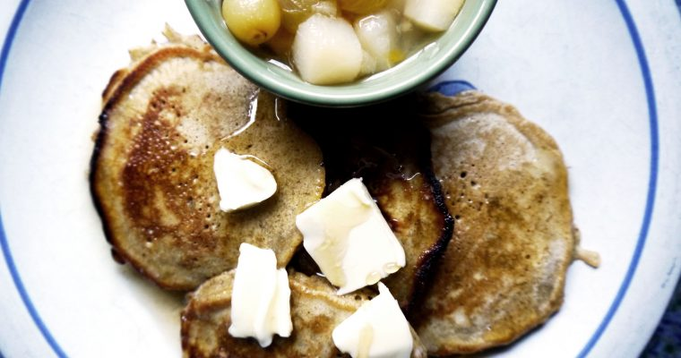 Breakfast for Dinner: Gingerbread Pancakes