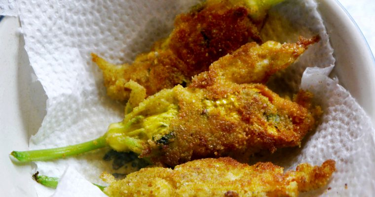 Stuffed Zucchini Flowers The Way My Mother Made Them