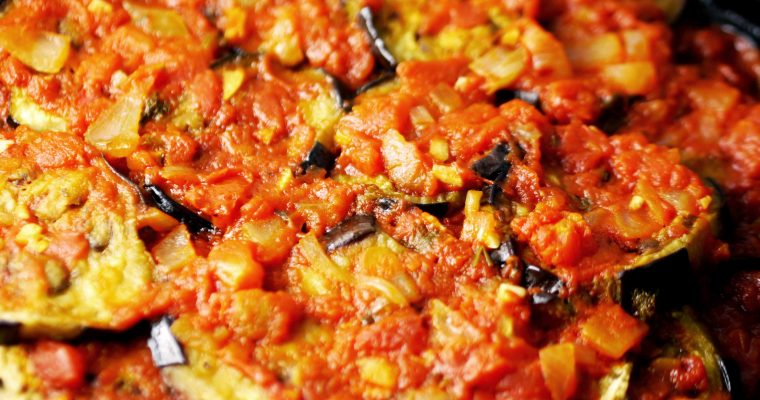 Quick, Easy, Turkish Eggplant Casserole