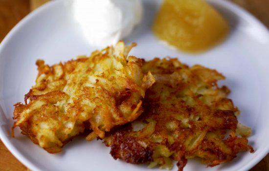 The Secret to Crispy, Crunchy Latkes